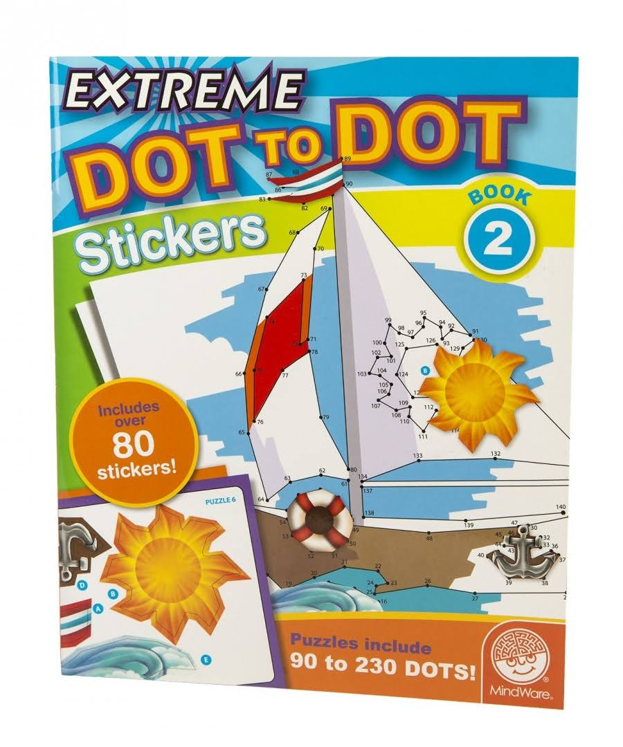 Extreme Dot to Dot Stickers Book #2