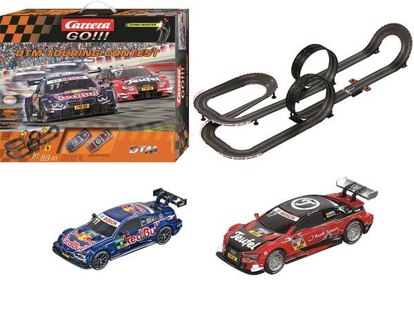 Carrera 62423 Go DTM Touring Contest Slot Race Track Set