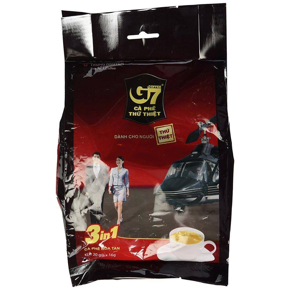 G7 Vietnamese Instant Coffee - 3 in 1, 16g