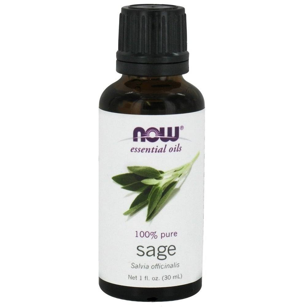 Now Essential Oils - Sage, 30ml
