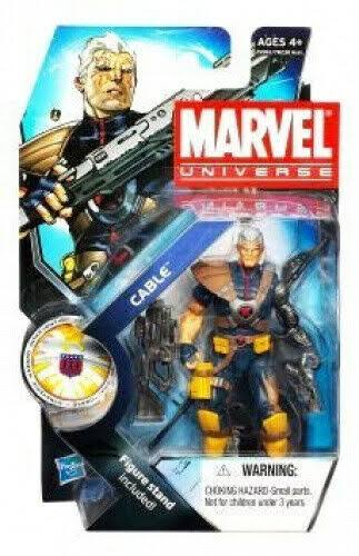 Marvel Universe Series 13 Action Figure - Cable, 3.75""