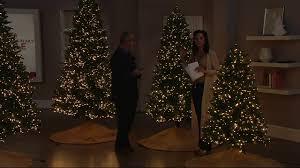 Bethlehem Lights Christmas Trees Qvc by Santa U0027s Best Starry Light Microlight Tree W Color Flip Led Lights