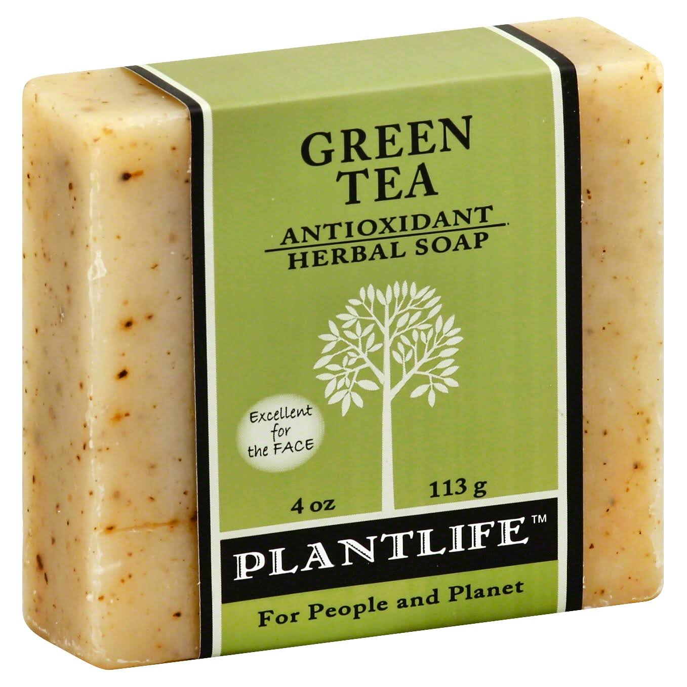 Plantlife Pure & Natural Aromatherapy Herbal Soap - Green Tea