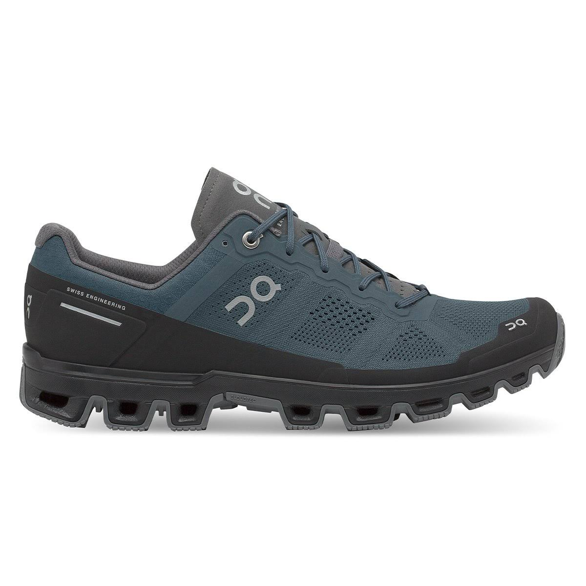 on Cloudventure Men's Trail Running Shoes Shadow/Rock