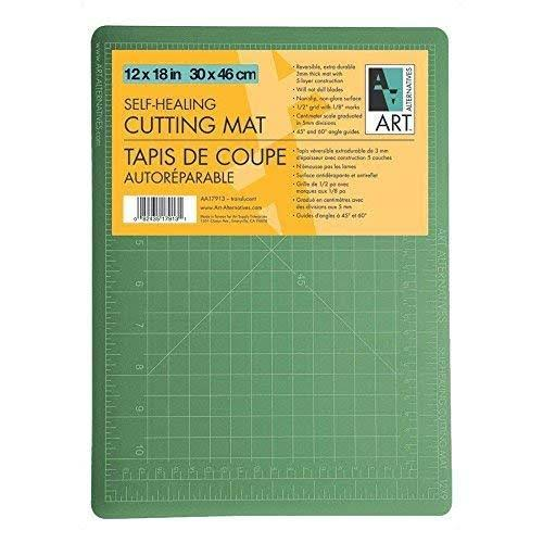 "Art Alternatives Self Healing Cutting Mat - 12""x18"""