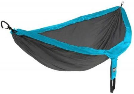 Eno Eagles Nest Outfitters Double Nest Hammocks - Teal/Charcoal