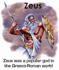 zeus god greeks sacred name jesus or zeus