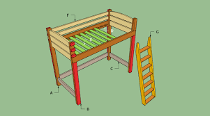 bunk bed howtospecialist how to build step by step diy plans