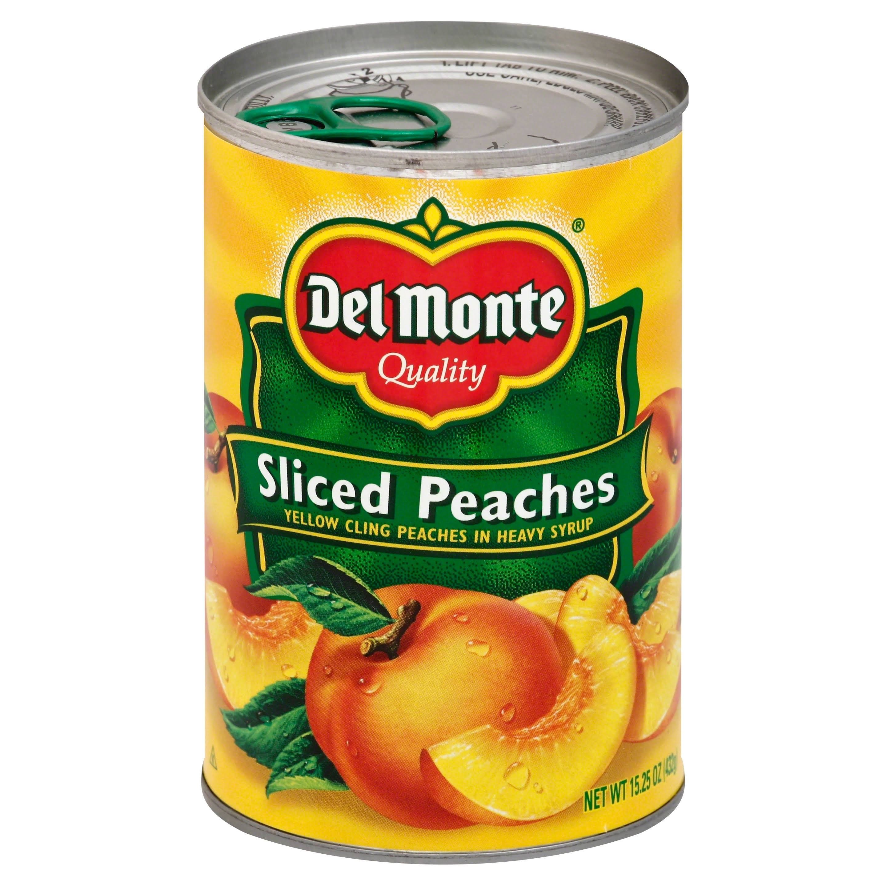 Del Monte Sliced Peaches - 15.25 oz