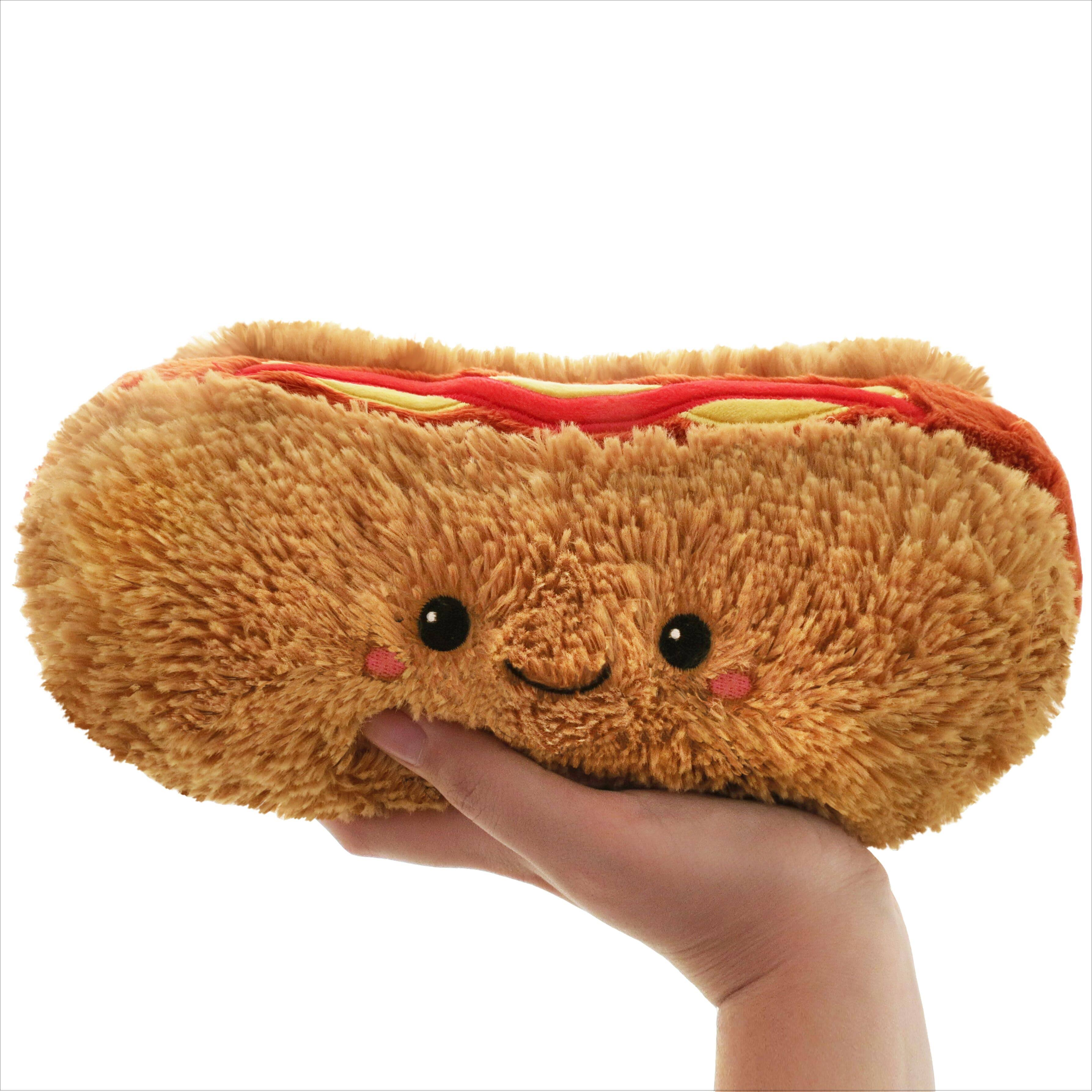 Squishable Hot Dog Mini Plush Toy - 10""