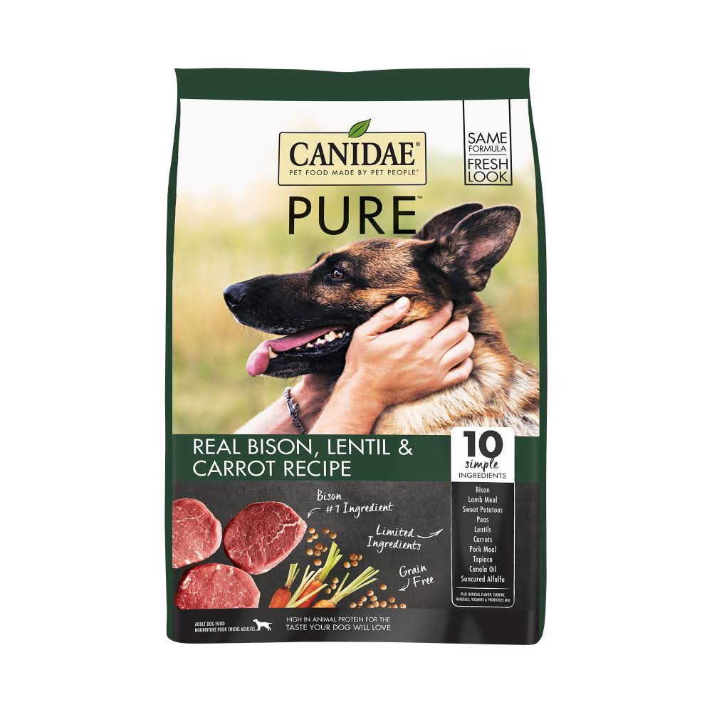 Canidae Grain Free Pure Land with Bison Dry Dog Food - 21-lb