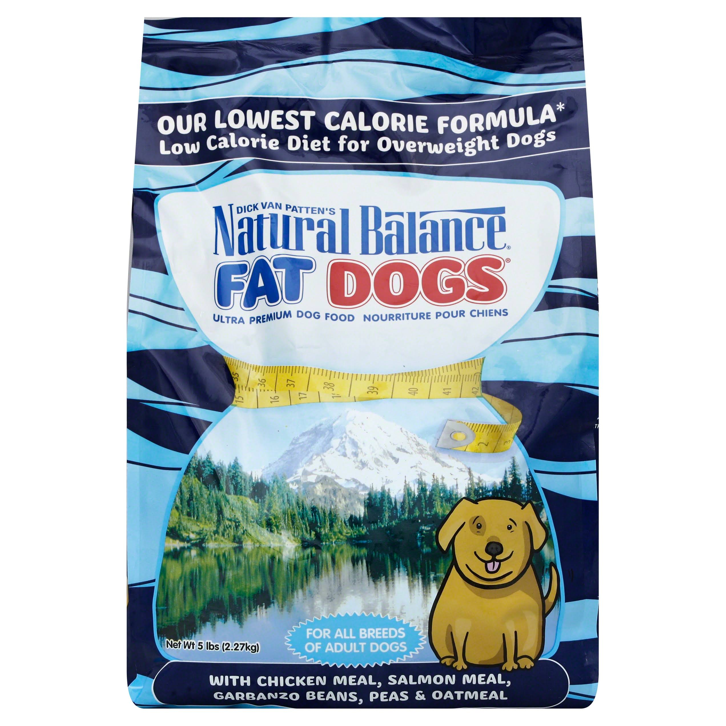 Natural Balance Fat Dogs Chicken and Salmon Formula Dry Dog Food - 5lb