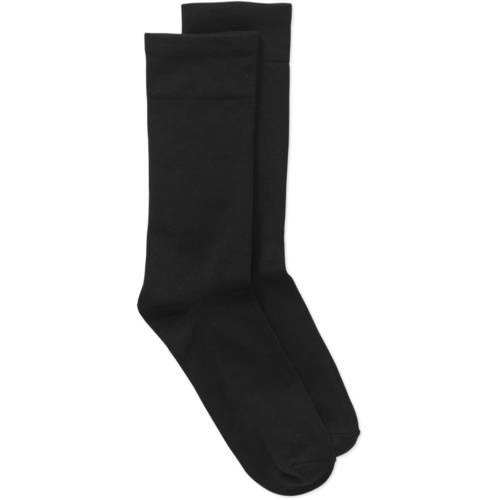 No Nonsense Women's Ultra Smooth Sock 3-Pack, Black, 4-10