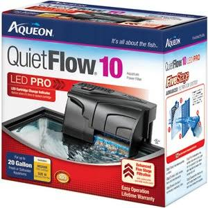 Aqueon QuietFlow10 Aquarium Power Filter