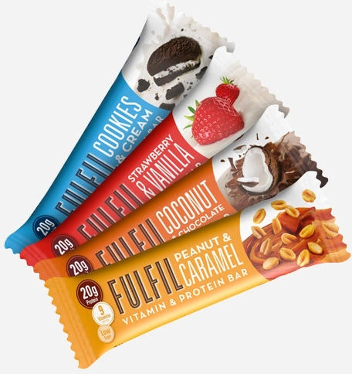 Fulfil Protein & Vitamin Bar 15 x 55g Chocolate Salted Caramel