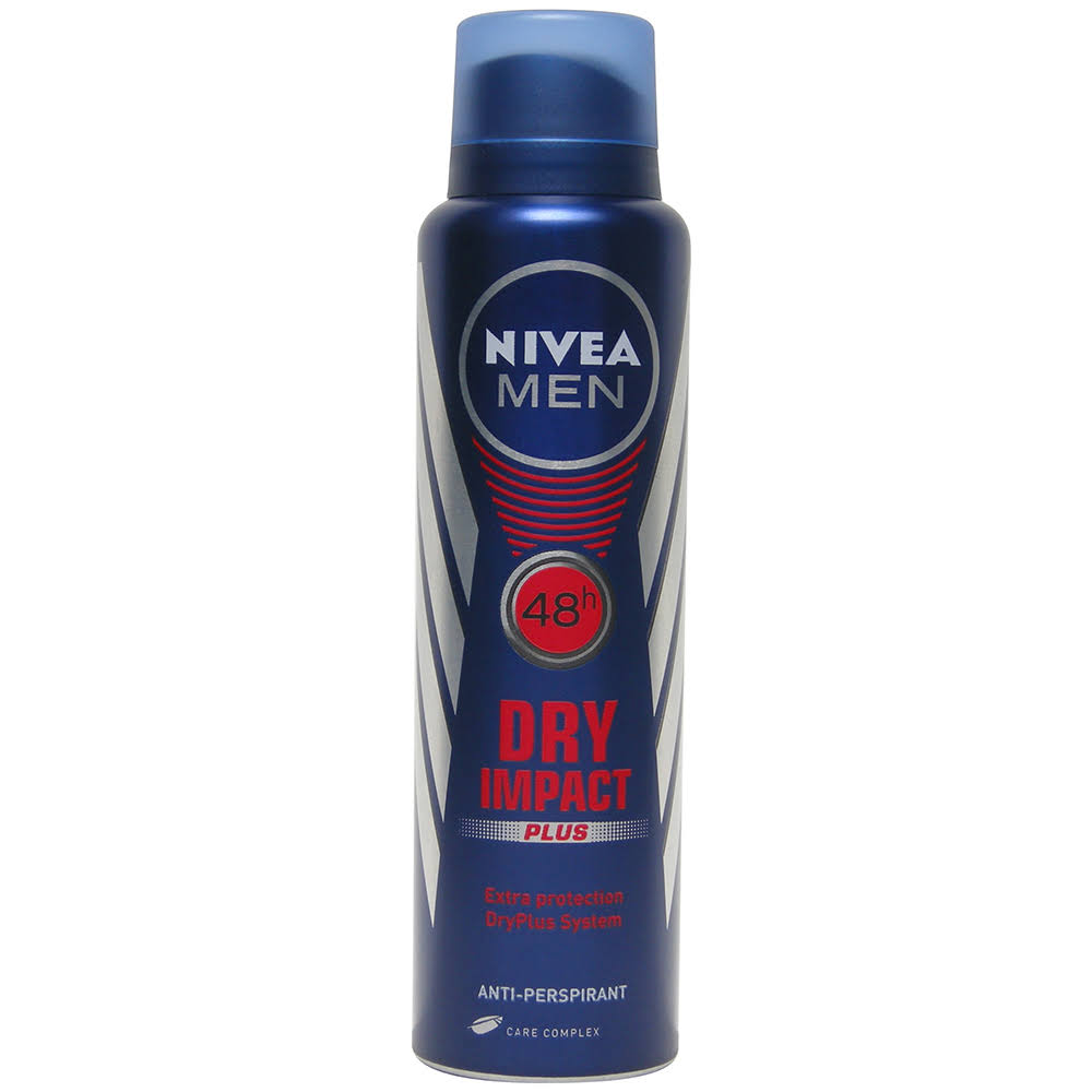 NIVEA Men's Dry Impact Anti-Perspirant Deodorant Spray - 150ml