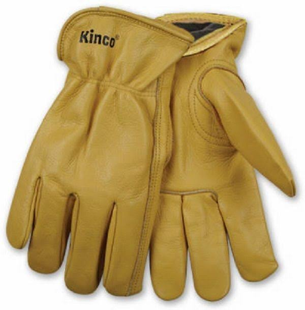 Kinco Lined Full Grain Cowhide Leather Glove - X-Large
