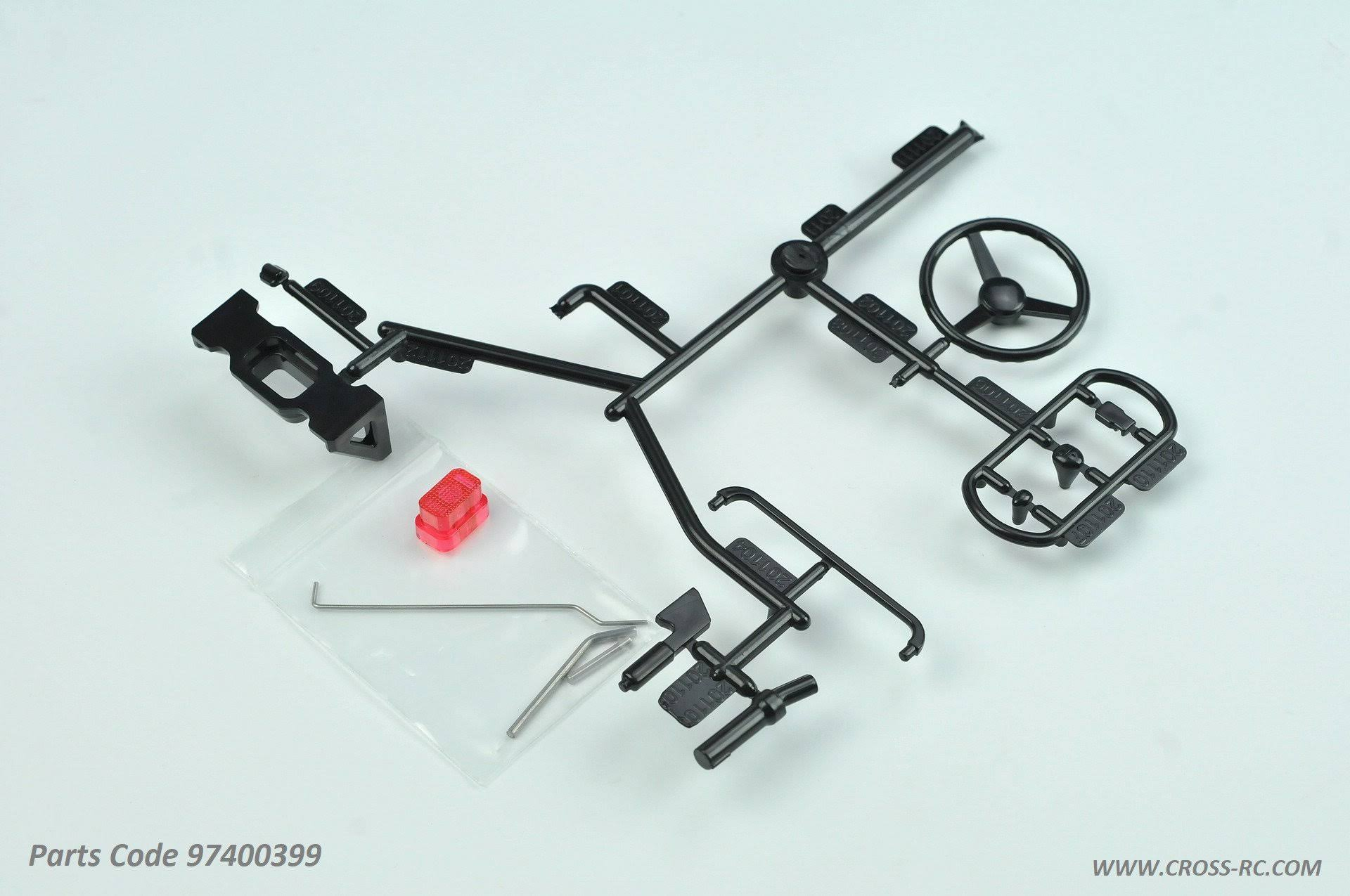 Cross RC CZR97400399 SG4 Scale Parts Set