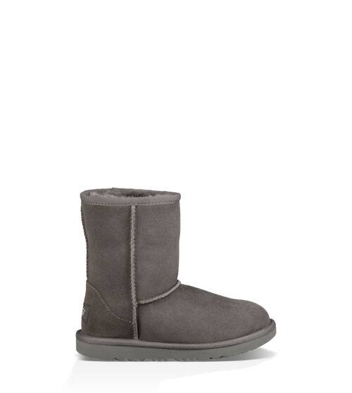 UGG Australia Kids' Classic II Fashion Boots - Grey, 3 US