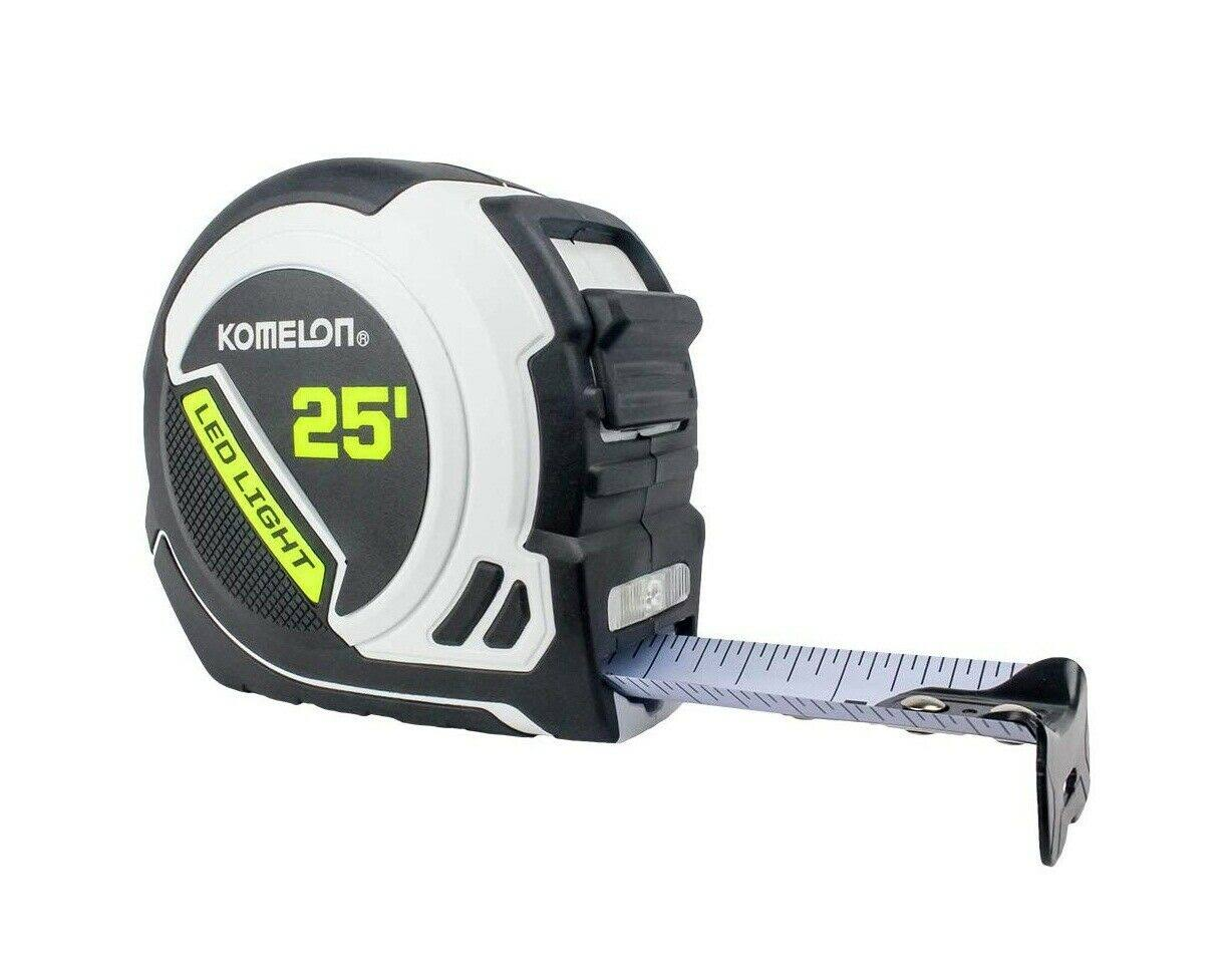 Komelon LED25 Professional Led Tape Measure - 25'