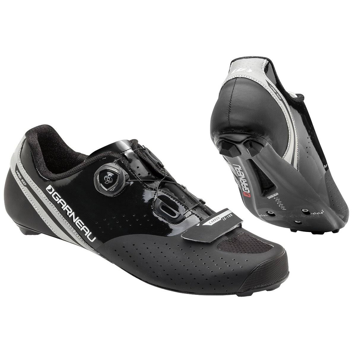 Louis Garneau Carbon LS-100 II Men's Shoe: Black - 42