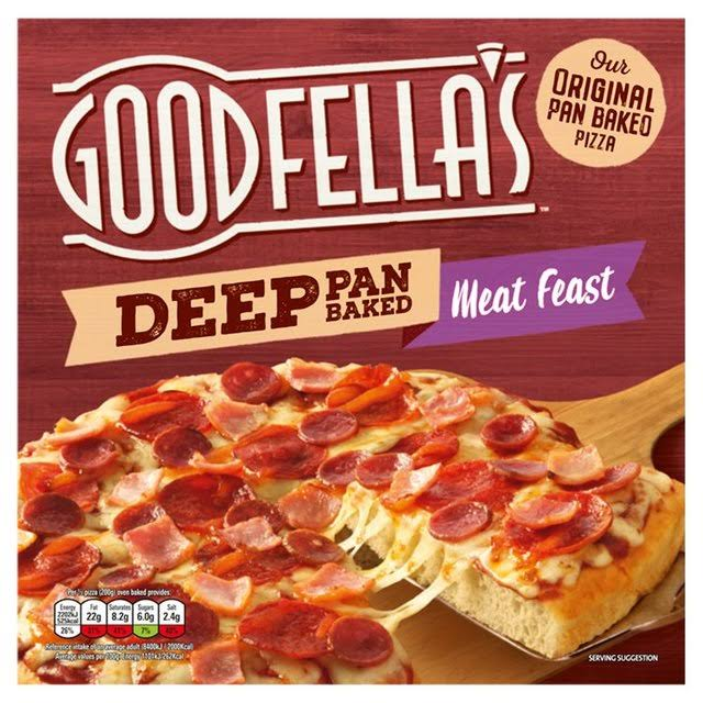 Goodfella's Deep Pan Baked Pizza - Meat Feast, 415g
