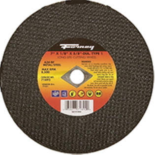 Forney Industries Metal Cut Off Wheel - 7""