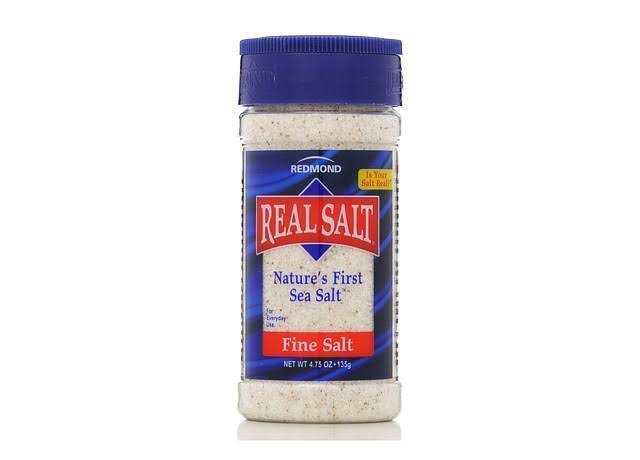 Real Salt Nature's First Sea Salt - 135g