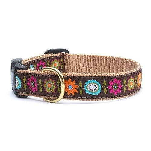 Up Country Bella Floral Dog Collar - XLarge