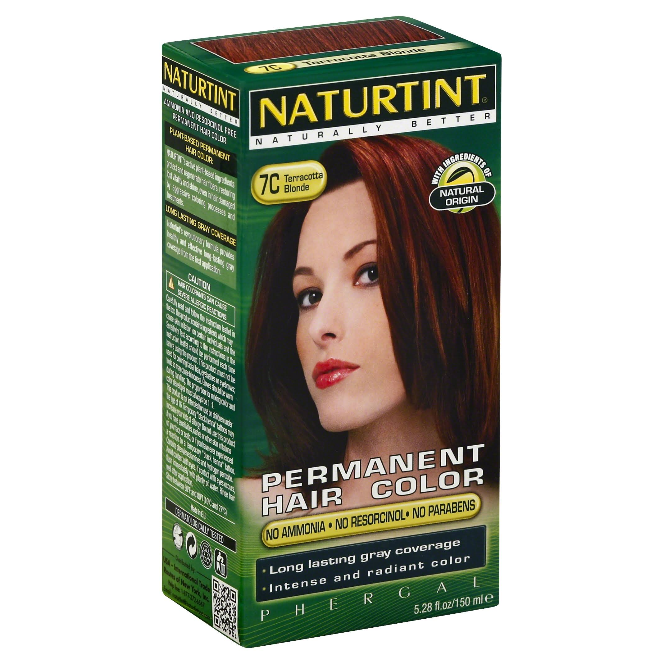 Naturtint Permanent Hair Colorant - Terracotta Blonde, 135ml