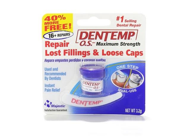 Dentemp Maximum Strength Dental Teeth Cement - 2.2g