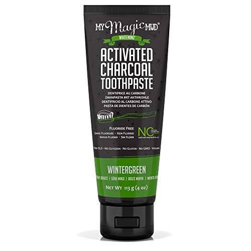 My Magic Mud Activated Charcoal Toothpaste - Wintergreen, 4oz