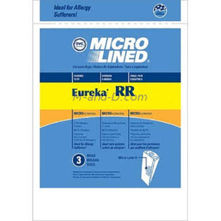 Eureka RR Micro Lined High Filtration Vacuum Bags - 3 count