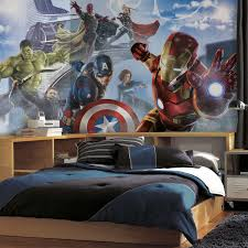 Superhero Bedroom Decor Nz by Kids Room Cute Mural Wallpaper Kids Room Design Inspiration In