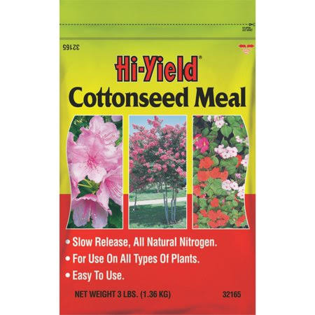 Hi-yield Cottonseed Meal Dry Plant Food - 3lbs