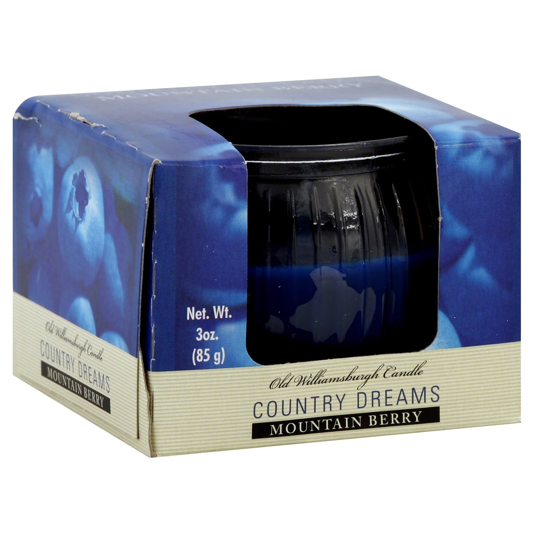 Williamsburgh Country Dreams Candle, Mountain Berry - 1 candle, 3 oz