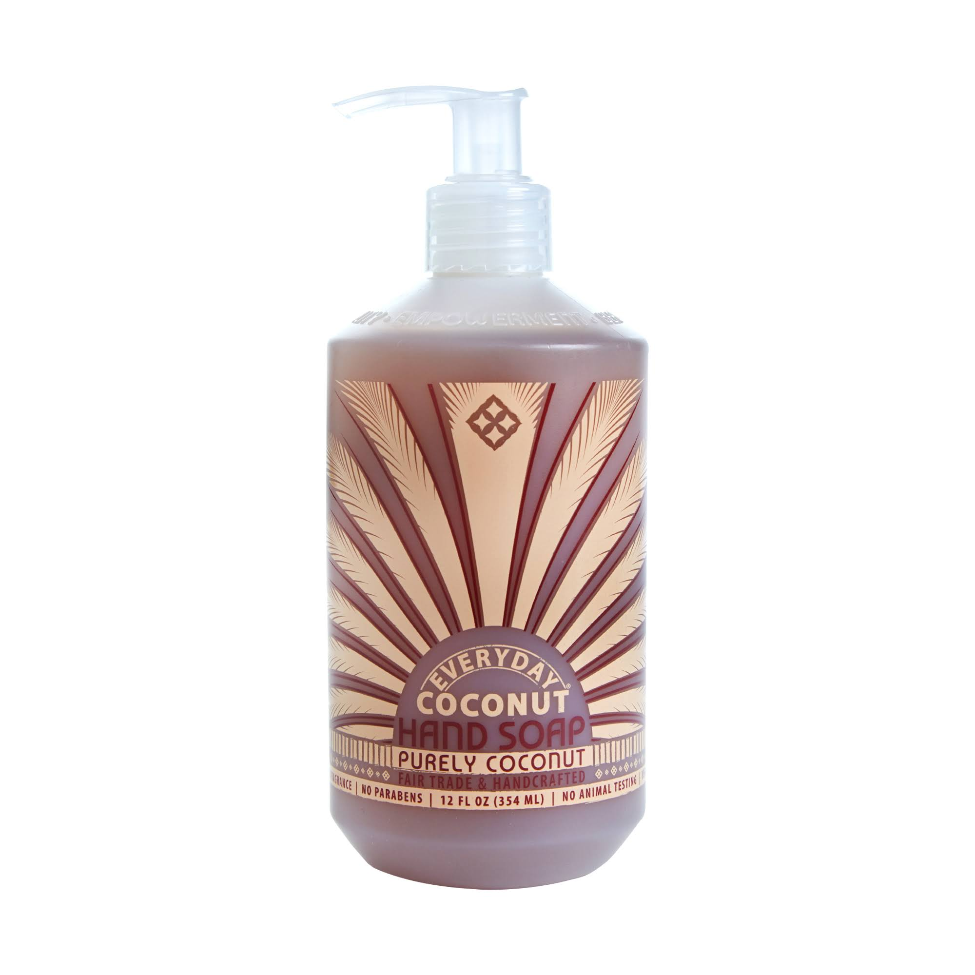 Everyday Coconut Hand Soap - Purely Coconut, 12oz