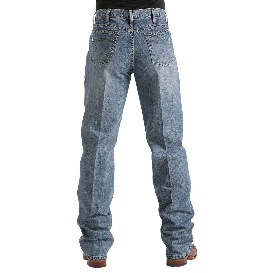 Cinch Mens White Label Medium Wash Jeans