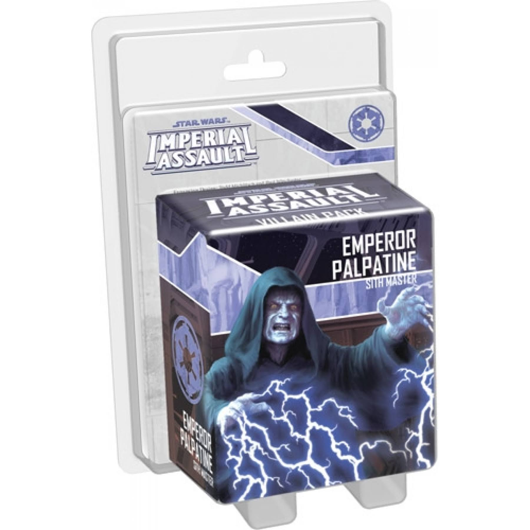 Star Wars Imperial Assault Emperor Palpatine Villain Pack Miniature Game