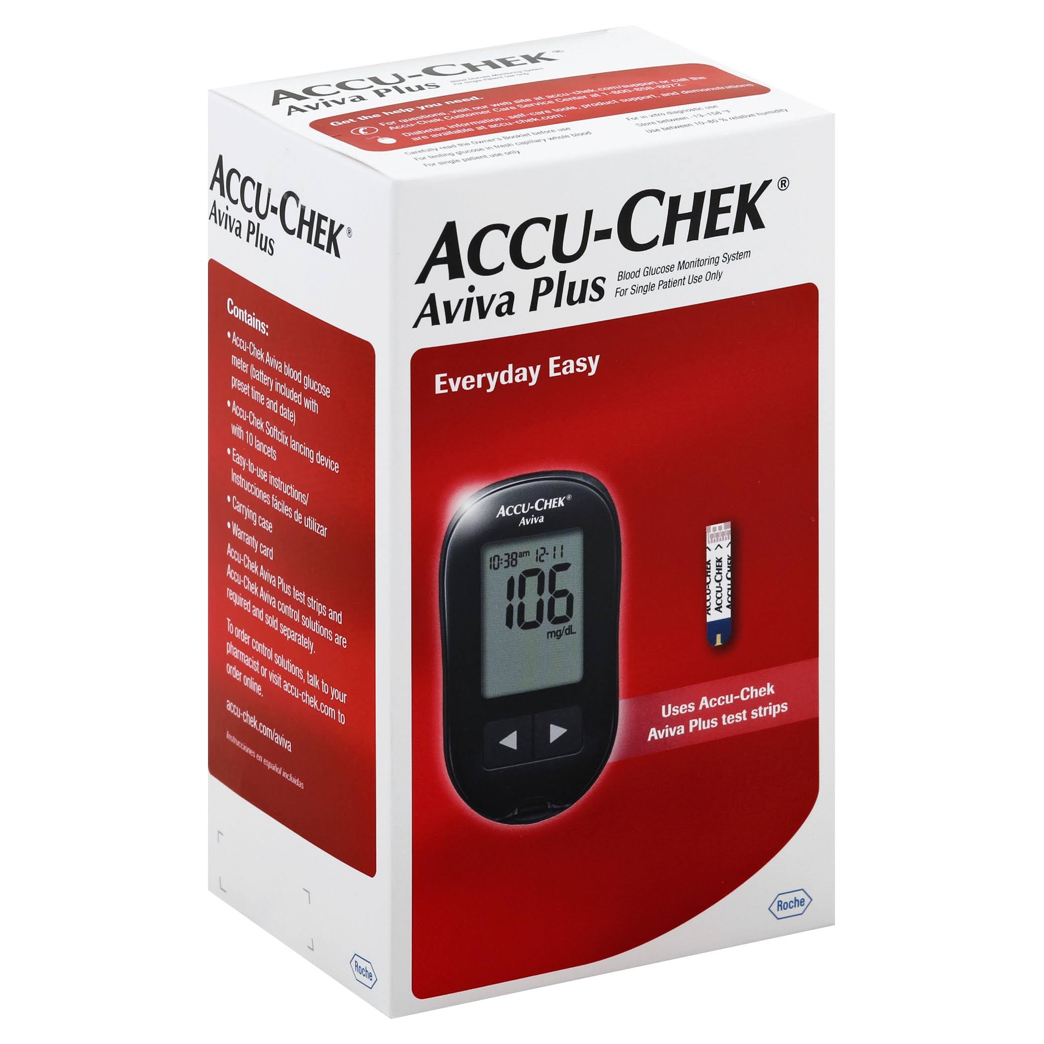 Accu Chek Care Kit, Aviva Plus