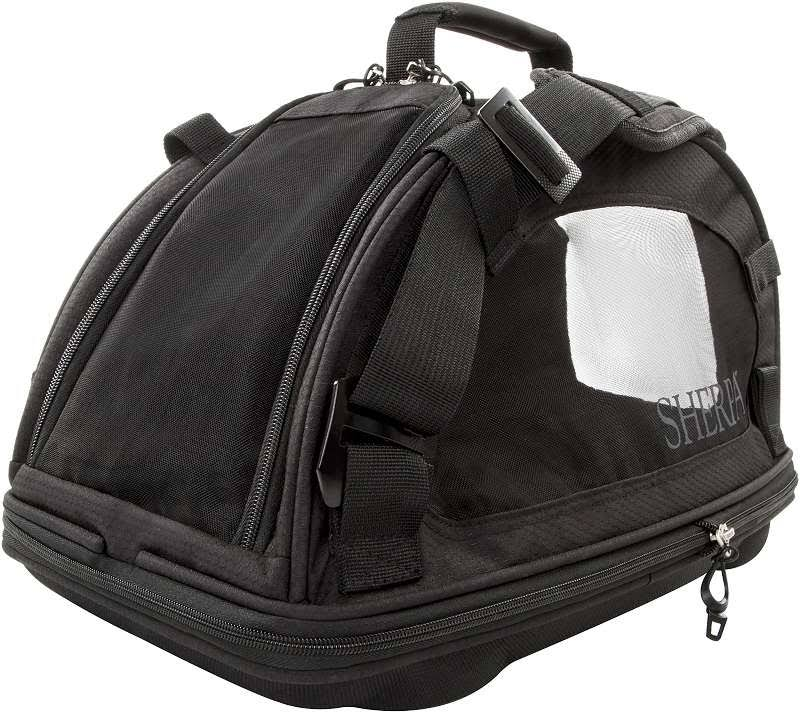 Sherpa Travel Comfort Ride Pet Carrier Medium Black