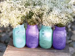 Shabby Chic Wedding Decorations Uk by Shabby Chic Weddings Mason Jars Distressed Paint Glass Jar