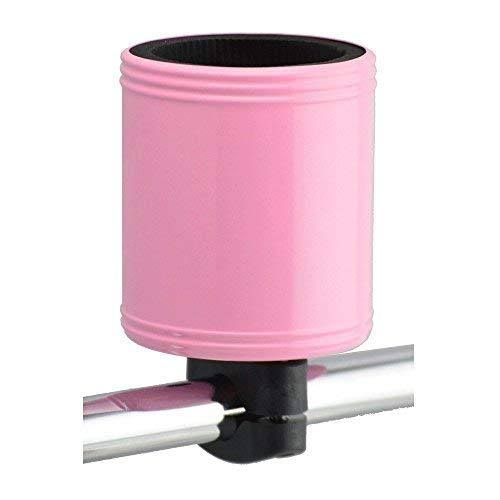 Kroozie 2.0 The Original Bicycles Cup Holder - Pink, Stainless Steel