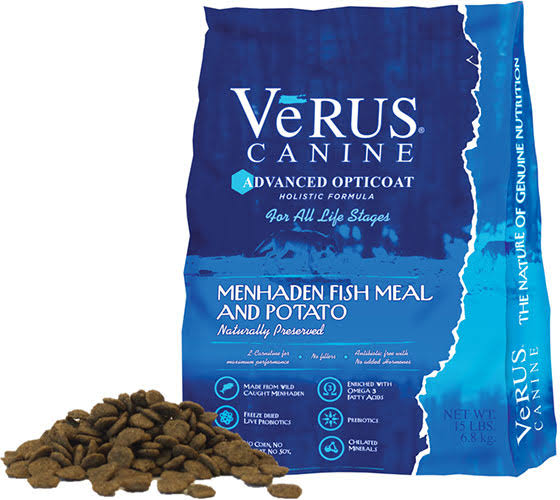 Verus Advanced Opticoat Dry Dog Food 15 lb