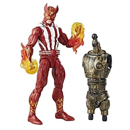 Marvel Legends Series X-men Action Figure - Sunfire BAF Warlock, 6""