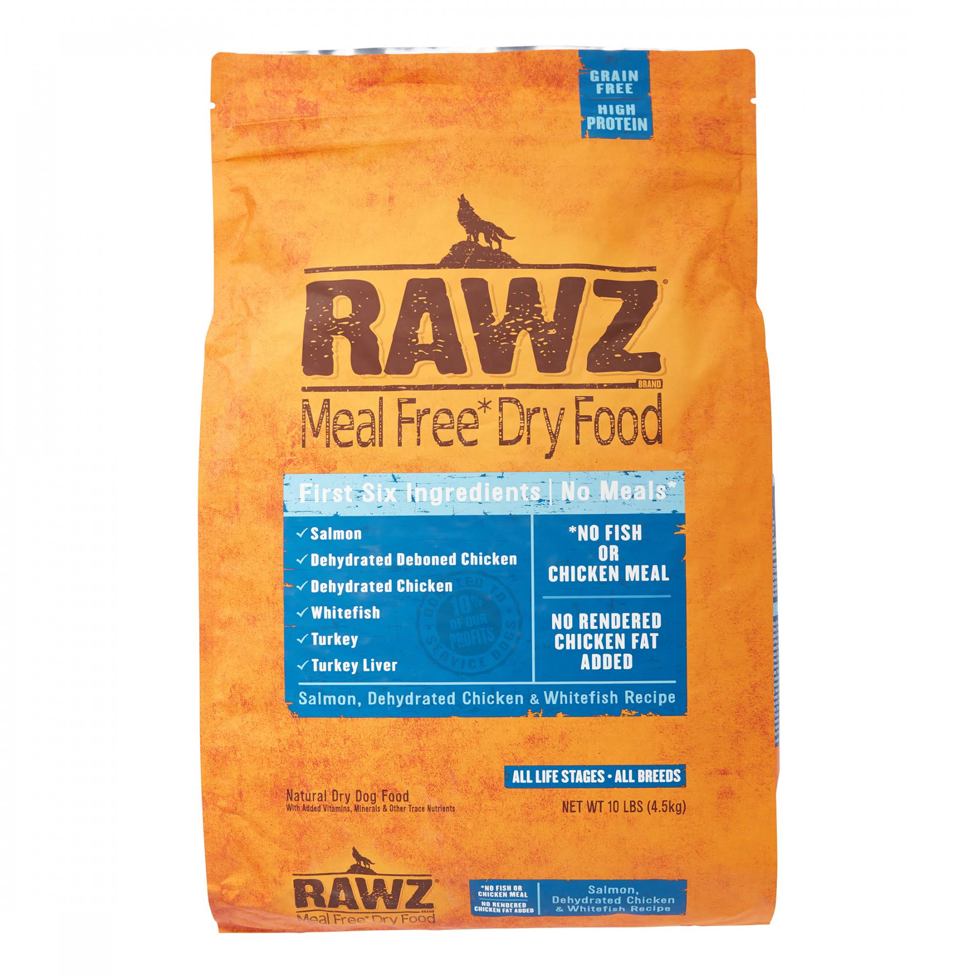 Rawz Meal Free Dry Dog Food - 10 lb