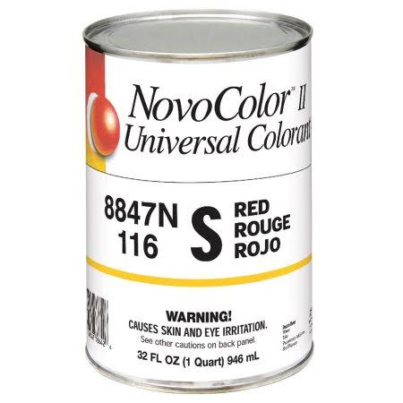 Novocolor II Universal Colorant - 1 qt, Red