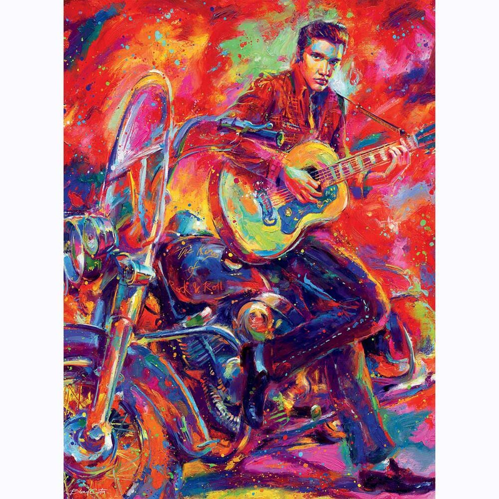 Ceaco Blend Cota - Rock and Roll - 550 Piece Puzzle