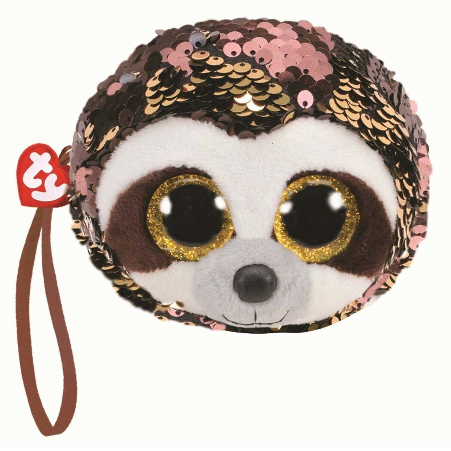 Ty Fashion Flippy Sequin Wristlet - Dangler The Sloth (5 inch)