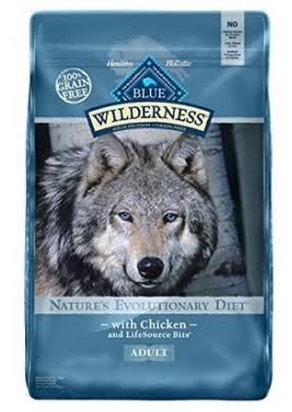 Blue Buffalo Wilderness Dry Dog Food - 11lb, Chicken